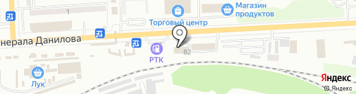 Блеск на карте Макеевки
