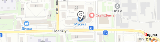 Супер шоп на карте Балашихи