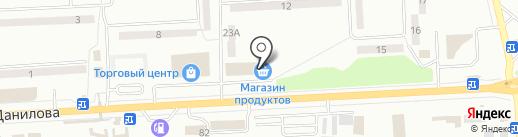Первый Республиканский на карте Макеевки