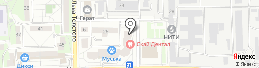 Автополис на карте Балашихи
