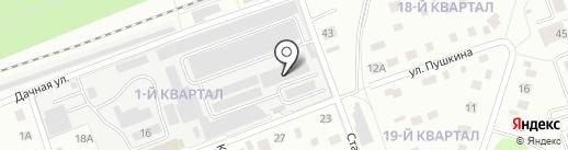 Lansat на карте Фрязино