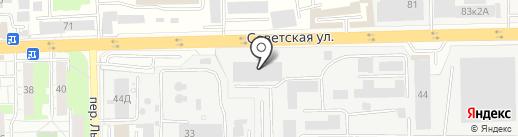 АВА-хлеб на карте Железнодорожного