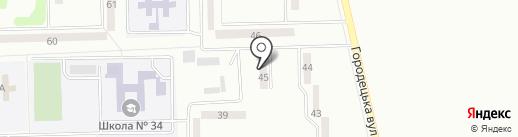 Лимон, продовольственный магазин на карте Макеевки