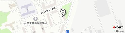 Почтовое отделение №141191 на карте Фрязино