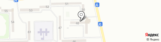 Продовольственный магазин на карте Макеевки