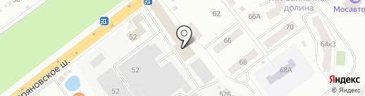 Стильные кухни на карте Щёлково