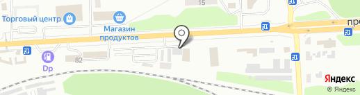 Подшипники на карте Макеевки
