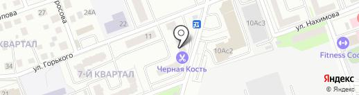 Пуговка на карте Фрязино