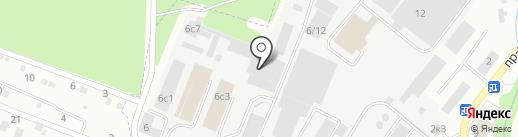 Фрязенская Упаковочная Компания на карте Фрязино