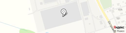 IVSIL Евро Трейд на карте Островцев