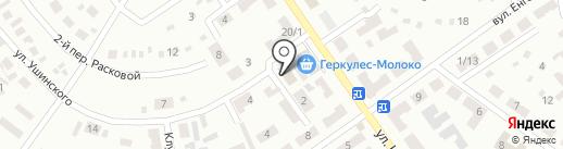 Свято-Андреевский храм на карте Макеевки