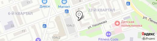 Стоматологический центр на карте Фрязино