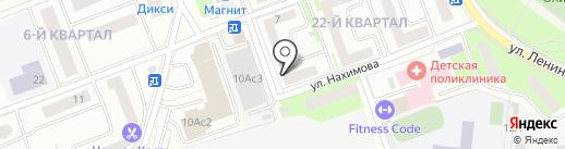 Жилсервис на карте Фрязино
