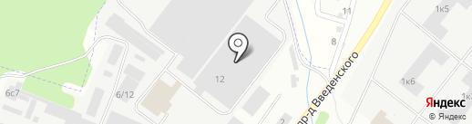 GTL на карте Фрязино