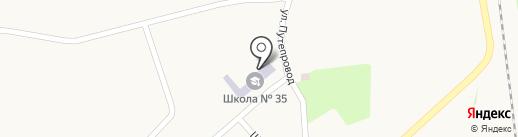 Макеевский учебно-воспитательный комплекс №35 на карте Криничной