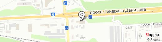 Автомагазин на карте Макеевки