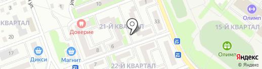 Продуктовый магазин на карте Фрязино
