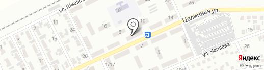 Продовольственный магазин на Целинной (Горняцкий) на карте Макеевки