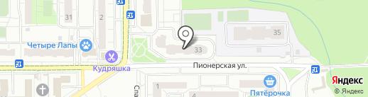 Автошкола на карте Железнодорожного