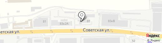 ГринВуд на карте Железнодорожного