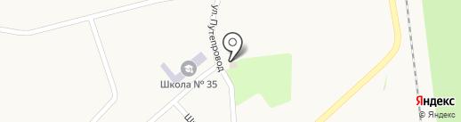 Хозтовары, магазин, СПД Гробова Т.Л. на карте Криничной