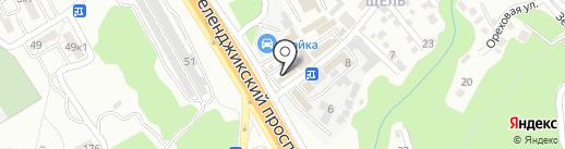 Автомагазин на карте Геленджика