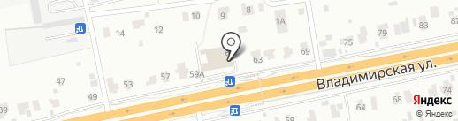 Протект ковка на карте Балашихи