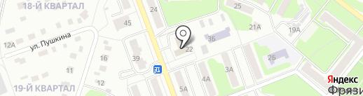 Института радиотехники и электроники РАН на карте Фрязино