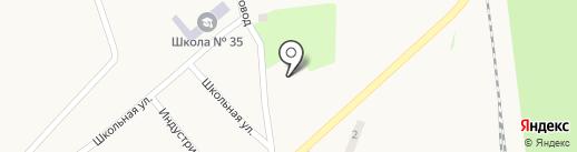 Амбулатория, Центр первичной медико-санитарной помощи №6 на карте Криничной