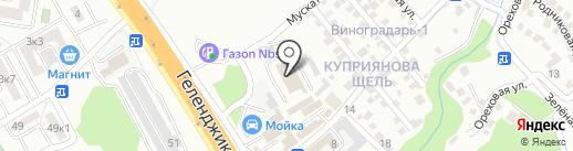 АВТОТРЕЙДИНГ на карте Геленджика