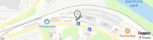 Автосервис на карте Фрязино
