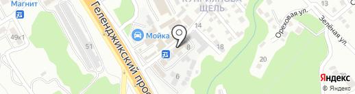 РоссосАвтоМотоСервис на карте Геленджика