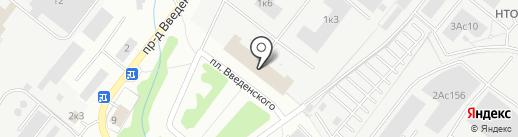 Институт радиотехники и электроники им. В.А. Котельникова РАН на карте Фрязино