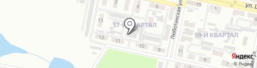 Абсолют на карте Макеевки