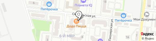 Белорусский Трикотаж на карте Фрязино