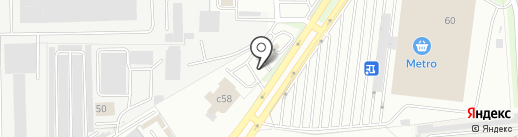 Фреш на карте Балашихи