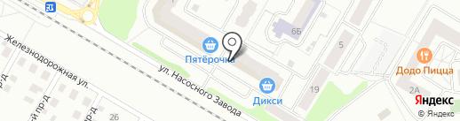 Детский дворик на карте Щёлково