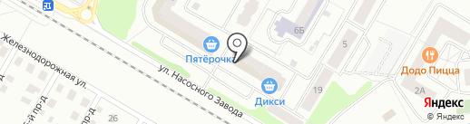 Любимец на карте Щёлково
