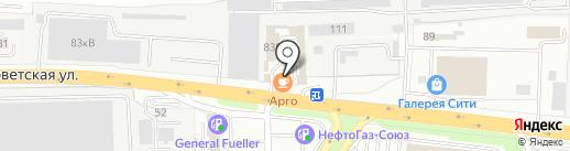 ИКОЛАЙН на карте Железнодорожного