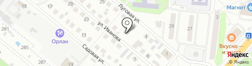 Сеть магазинов газового оборудования на карте Фрязино