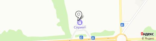 АЗС Укртатнафта на карте Макеевки