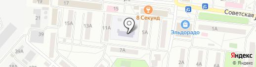 Детский сад №4 на карте Фрязино
