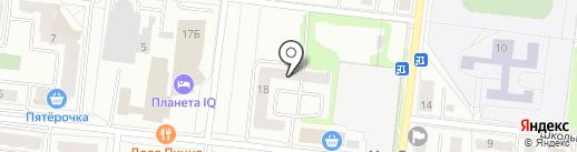 РЕСТЭП на карте Фрязино
