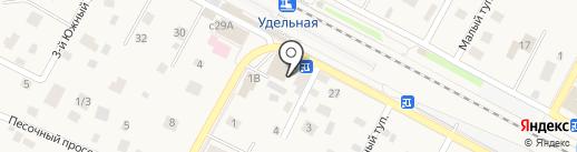ТЕХСФЕРА на карте Удельной