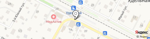 Киоск по продаже проездных билетов на карте Удельной