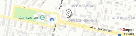 Колорит на карте Макеевки