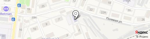 Удельнинская детская музыкальная школа на карте Удельной