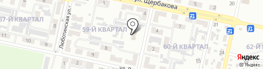 Свято-Боголюбский храм на карте Макеевки