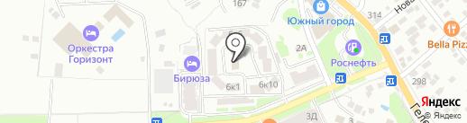 МУП пассажирского автотранспортного обслуживания муниципального образования город-курорт Геленджик на карте Геленджика
