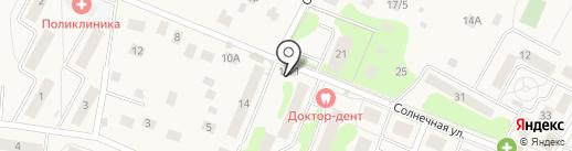 Кречет на карте Удельной